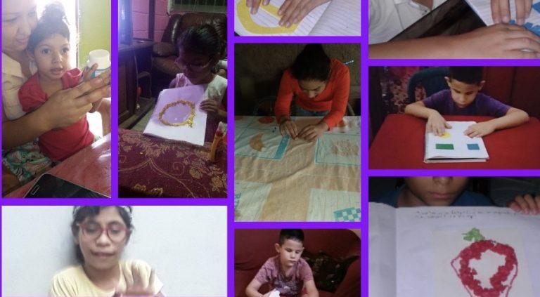 ¡Ejemplar! Pese a crisis: Escuela «Luis Braille» sigue ayudando a niños no videntes