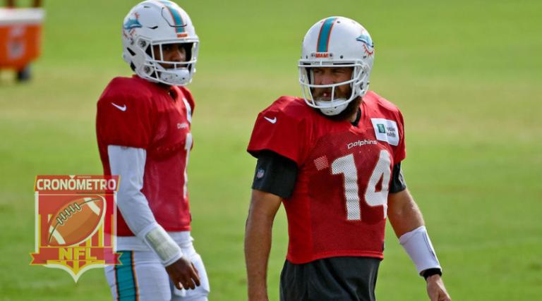 NFL: Tua banca de momento; Ryan Fitzpatrick QB titular de los Dolphins