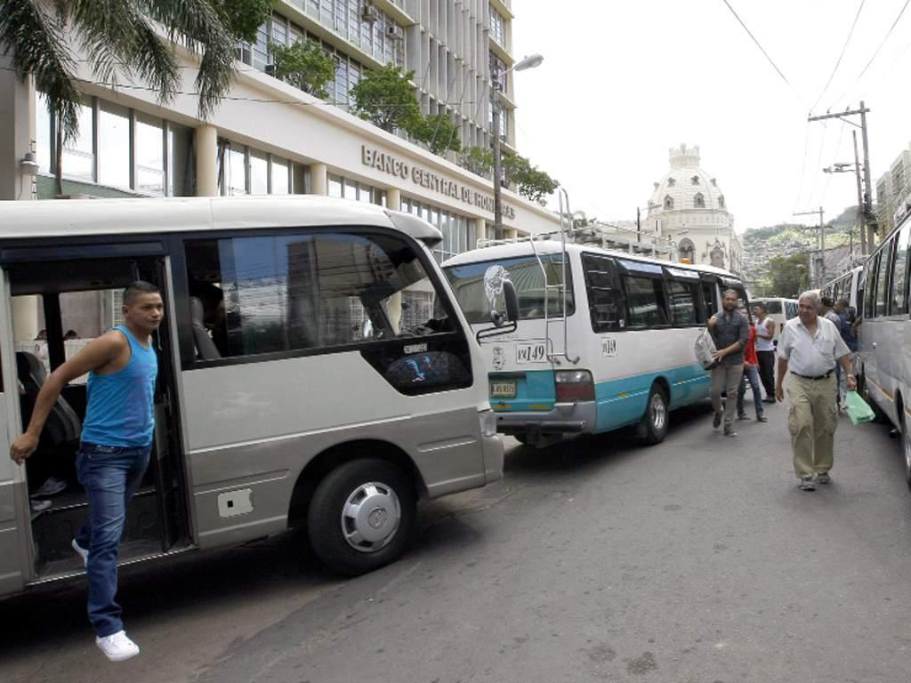 rutas operando en tegucigalpa