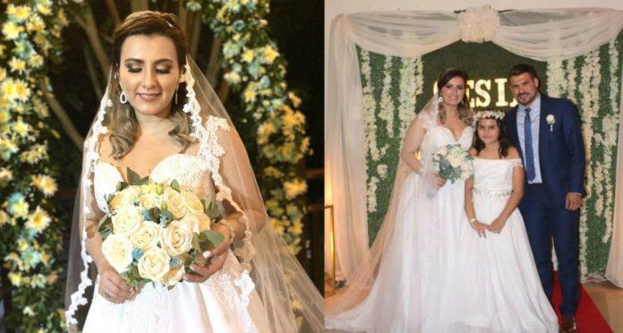 Cesía Mejía boda
