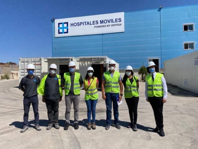 Hospitales móviles de Santa Rosa y Choluteca