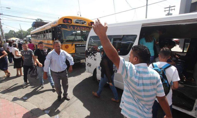 Transporte urbano en SPS iniciaría operaciones la próxima semana
