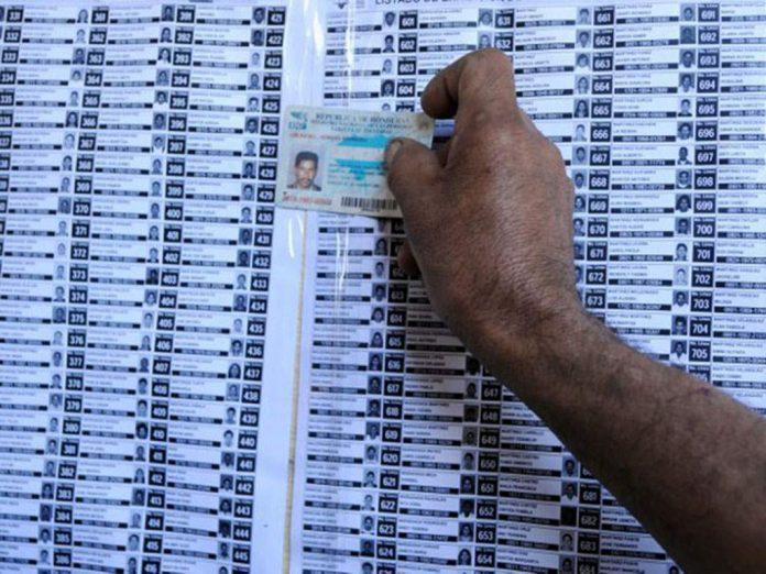 Censo electoral para elecciones 2021