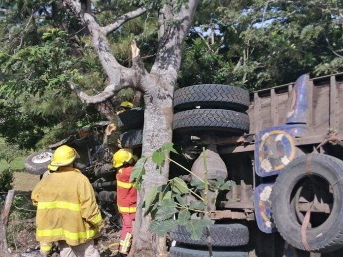 accidente en Choluteca