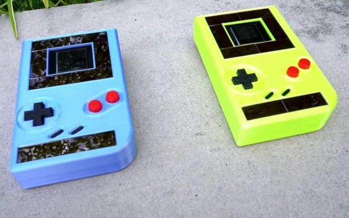 Engage el Game Boy sin baterías