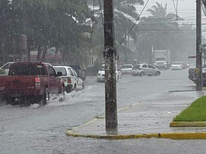 alerta amarilla para cinco departamentos en Hondura
