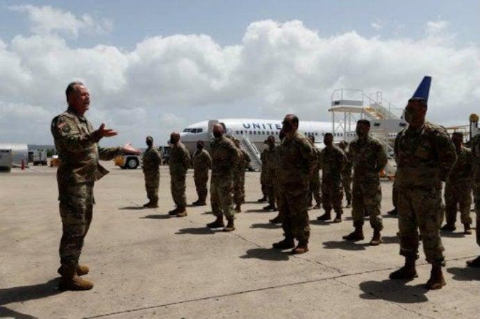 Soldados Policía Militar Puerto Rico