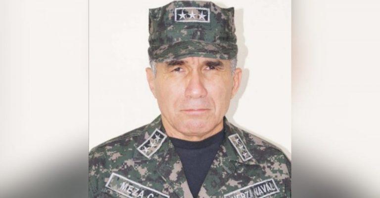 José Domingo Meza, vocero de la Marina Mercante, está grave por COVID-19