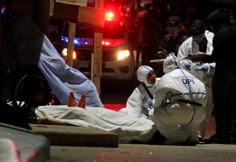 35 masacres dejan 129 pérdidas humanas en lo que va de 2020, según OV-UNAH