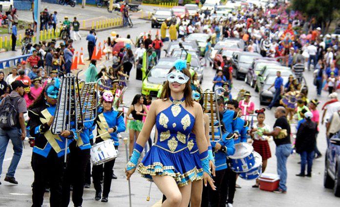 carnaval de Tegucigalpa