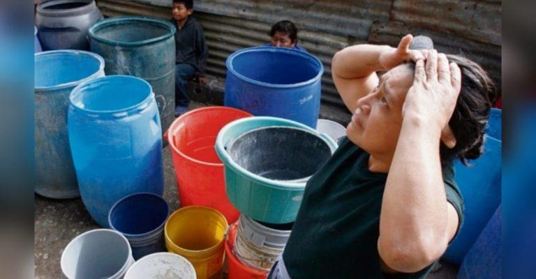 SANAA: 70 colonias y 200 mil habitantes sin agua, pese a intensas lluvias
