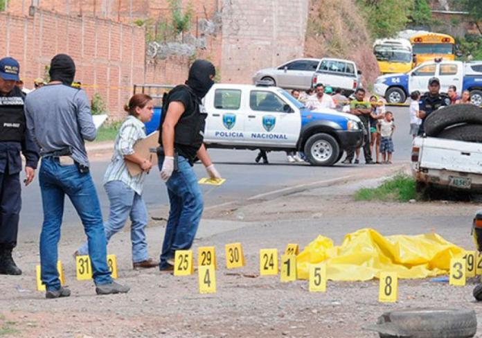 aumentan homicidios en tegucigalpa