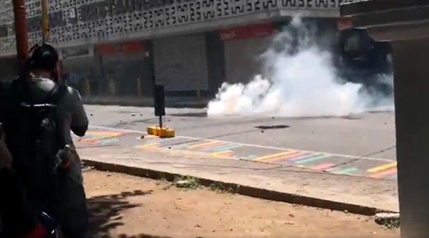 disturbios en tegucigalpa
