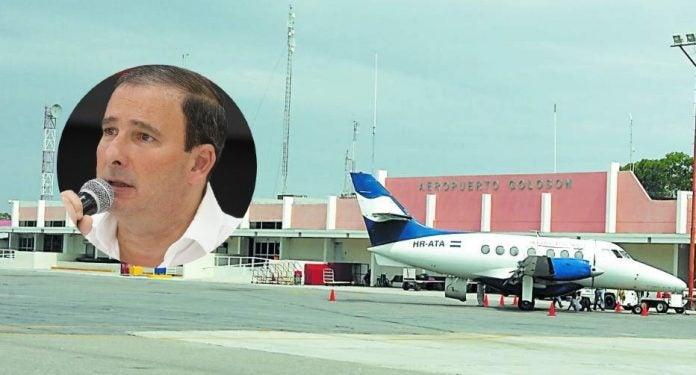 administración de EHISA en aeropuertos de Honduras