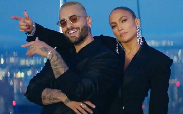 """Maluma y J-Lo encienden las redes con sensual vídeo de """"Pa' ti"""" y """"Lonely"""""""