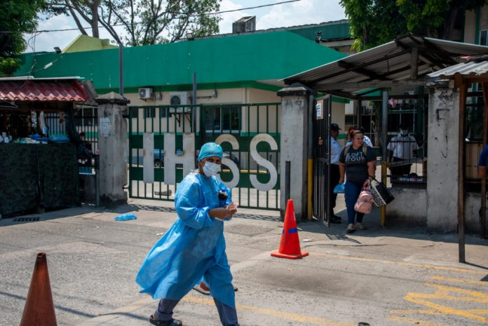 hospitalización por COVID-19 en Honduras