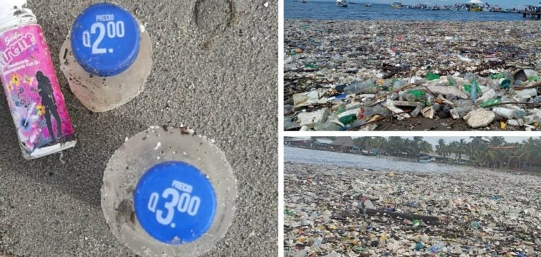 ¡Crimen ambiental! Playas de Omoa, de joya natural a basurero municipal