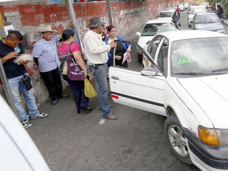 TGU: supuestos pandilleros reactivan cobro de extorsión en punto de taxis