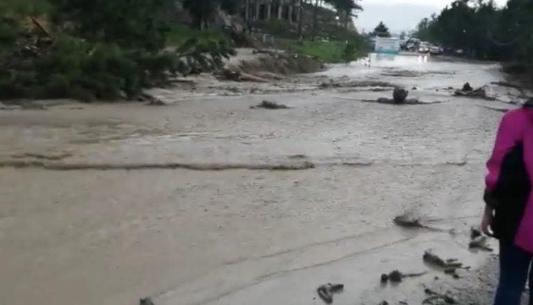 Desbordamiento, daños e incomunicados por lluvias en Intibucá y Lempira