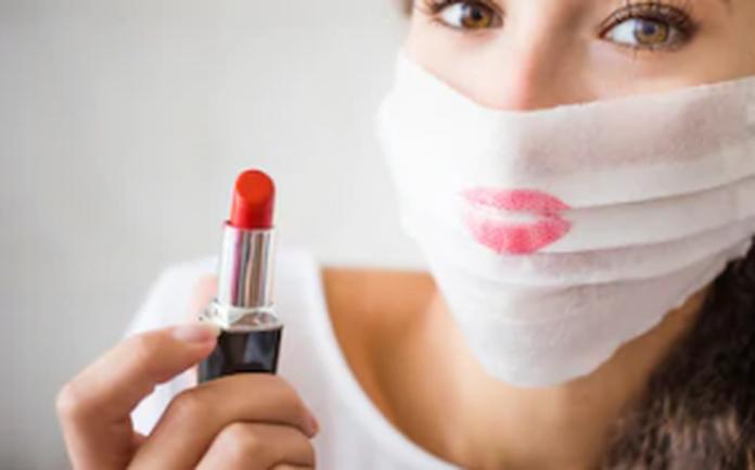 evitar que labial se marque en cubrebocas