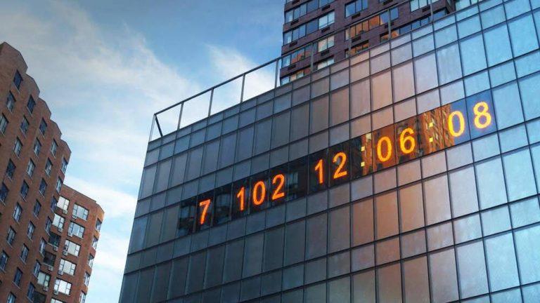 Reloj Climático en NY: ¿Cuánto tiempo queda para que el planeta colapse?