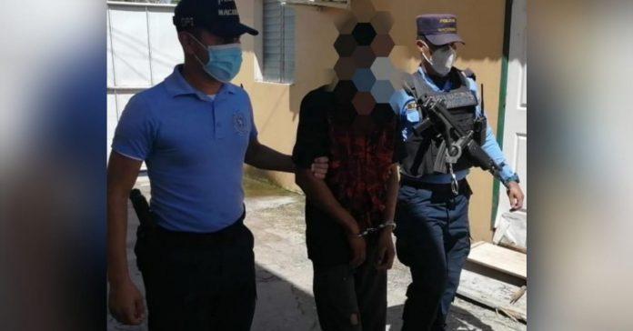 violación en Talanga