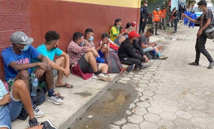 migrantes de Honduras