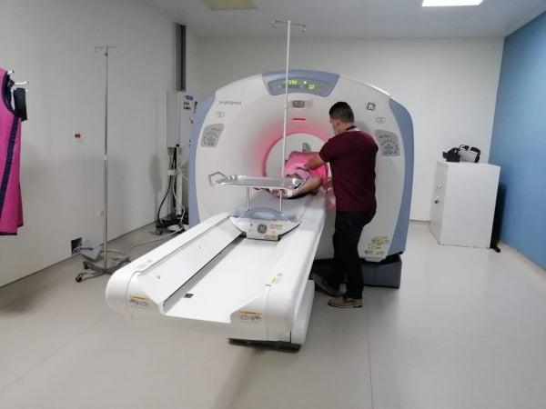 En Hospital de Occidente ya hacen tomografías a pacientes Covid-19