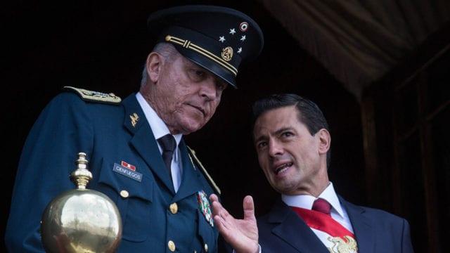 Cae en EEUU el jefe del Ejército de México por nexos con el narcotráfico