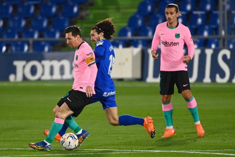 LALIGA: El Barcelona perdió por la mínima ante el Getafe