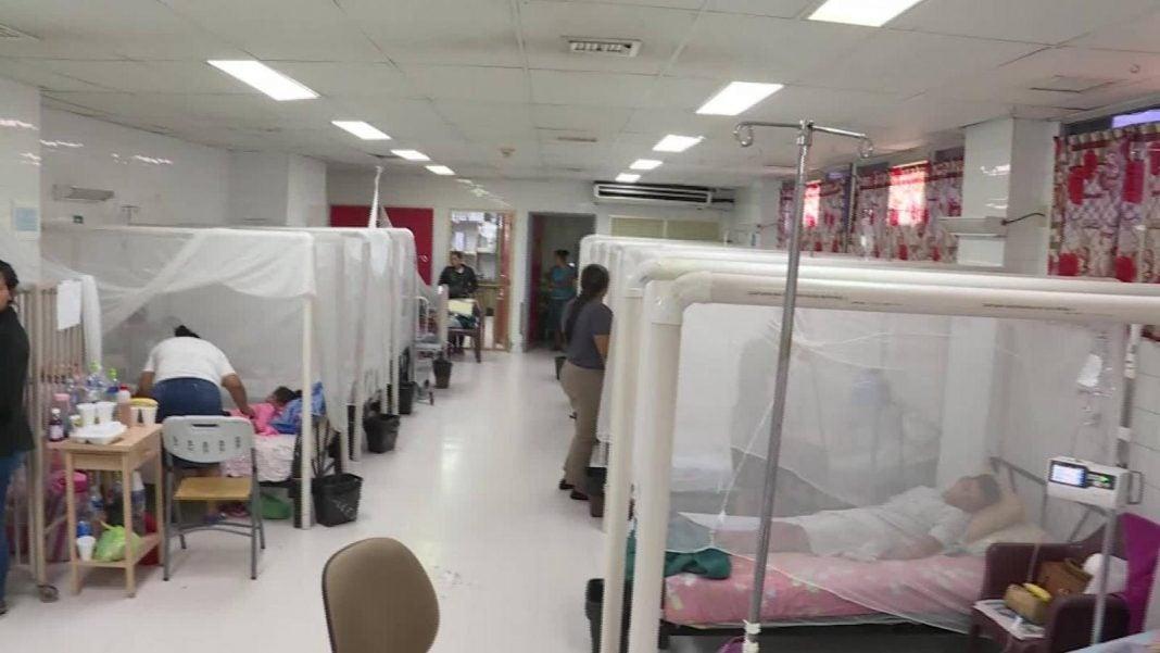 casos de dengue en Cortés