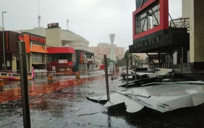 huracán delta en méxico