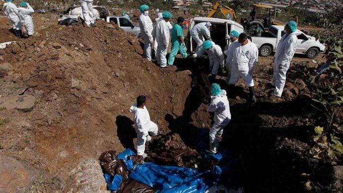 manejo de cadáveres en Olancho