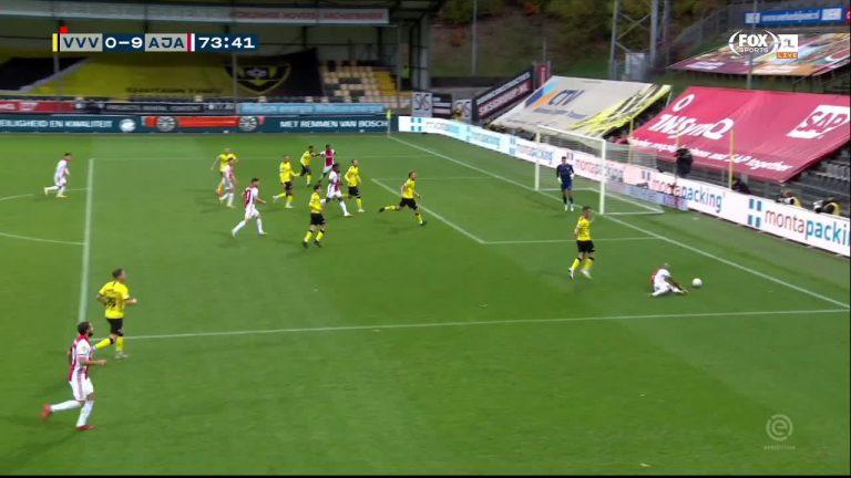 El Ajax marca la historia con goleada de 13-0