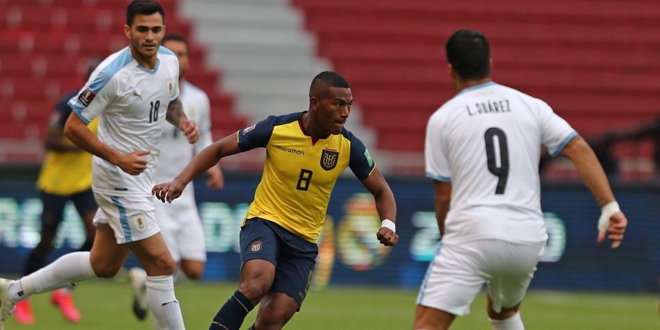 Ecuador venció a Uruguay 4-2 por las eliminatorias a Qatar 2022