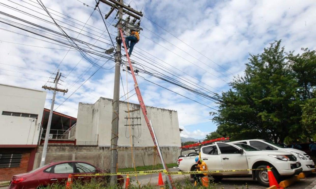 MIÉRCOLES: Varias zonas de Honduras no tendrán energía eléctrica, según EEH y ENEE