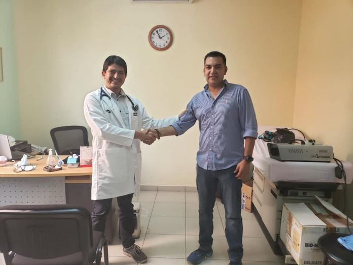 Alcalde de Siguatepeque vence el covid-19