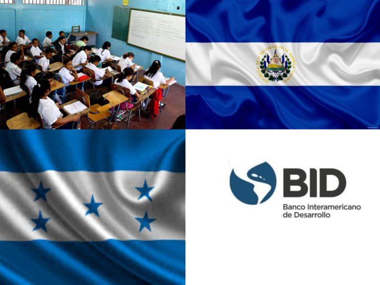 BID aporta $1 millón para fortalecer educación en Honduras y El Salvador