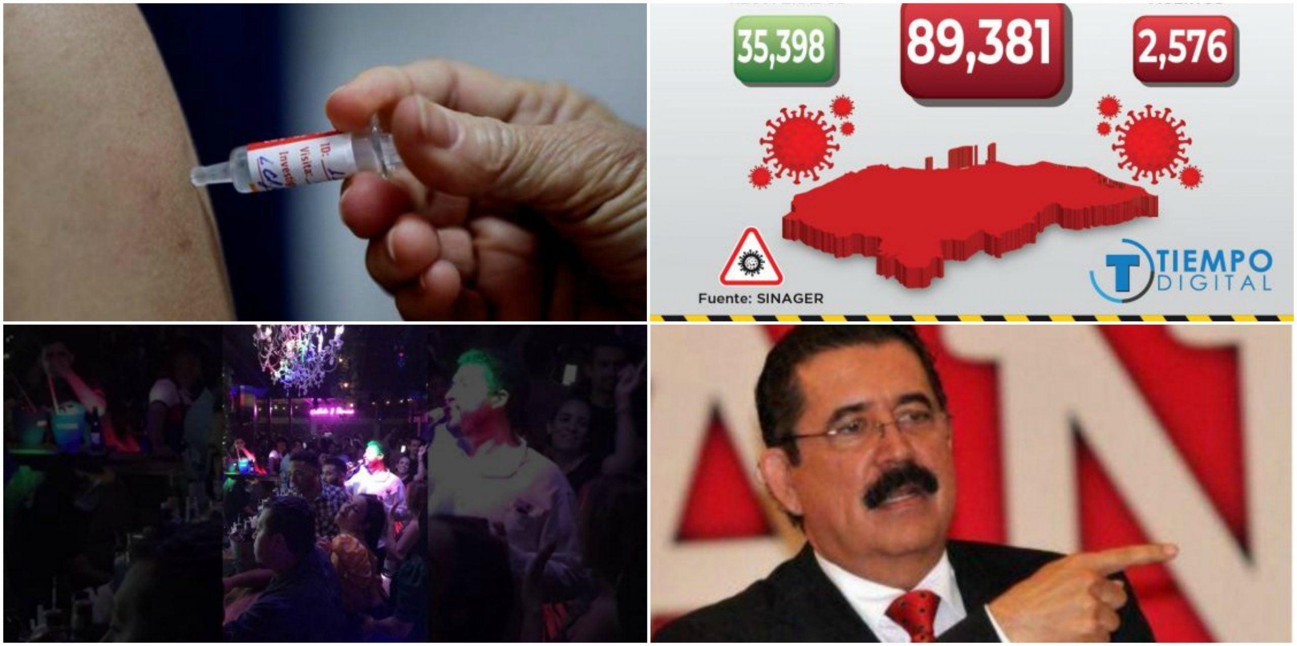 RESUMEN COVID-19: Mel probará vacuna rusa; SINAGER reporta 956 casos nuevos