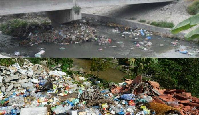 contaminación de ríos en San Pedro Sula
