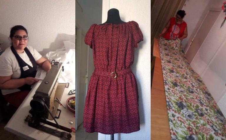 Hondureña en España emprende y crea su propia marca de ropa