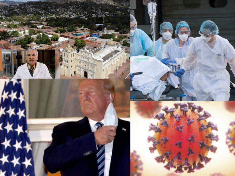 RESUMEN   COVID-19: Comayagua 70% positividad y Trump ya «no contagia»