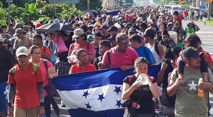 méxico amenaza a caravana migrante