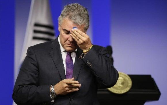 colombianos gestión Iván Duque