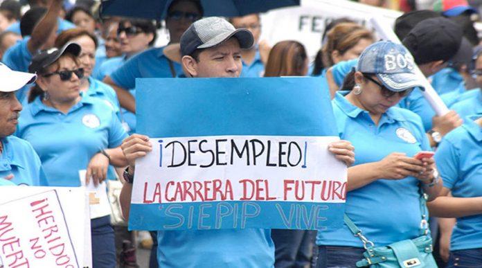 COHEP trabajadores suspendidos