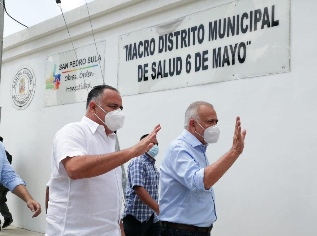 Mauricio Oliva en San Pedro Sula