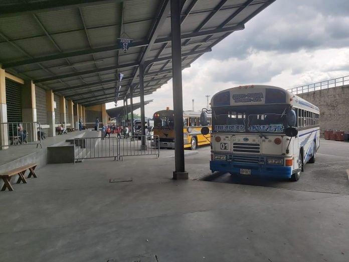 rutas de transporte interurbano
