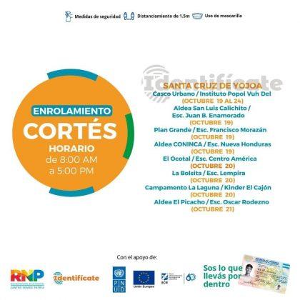 sigue enrolamiento en Cortés