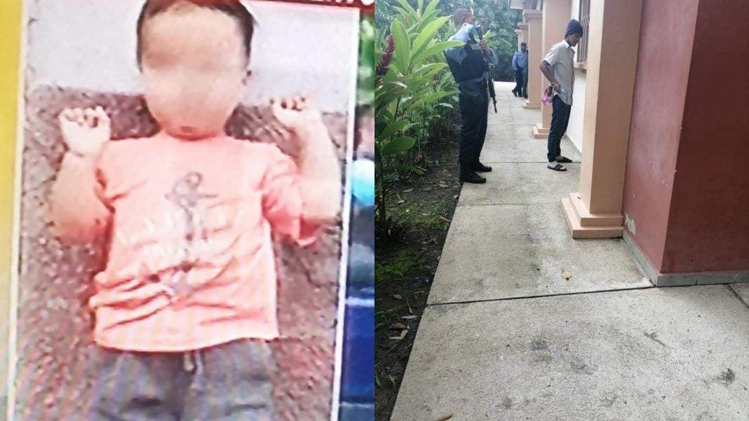 hombre mató a su hijo de dos años