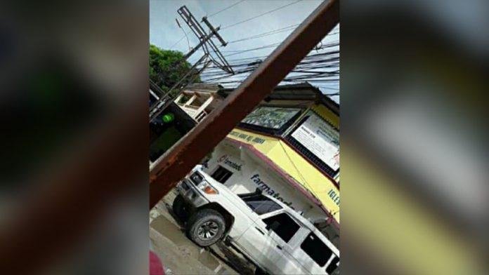 Choloma camioneta robando niños